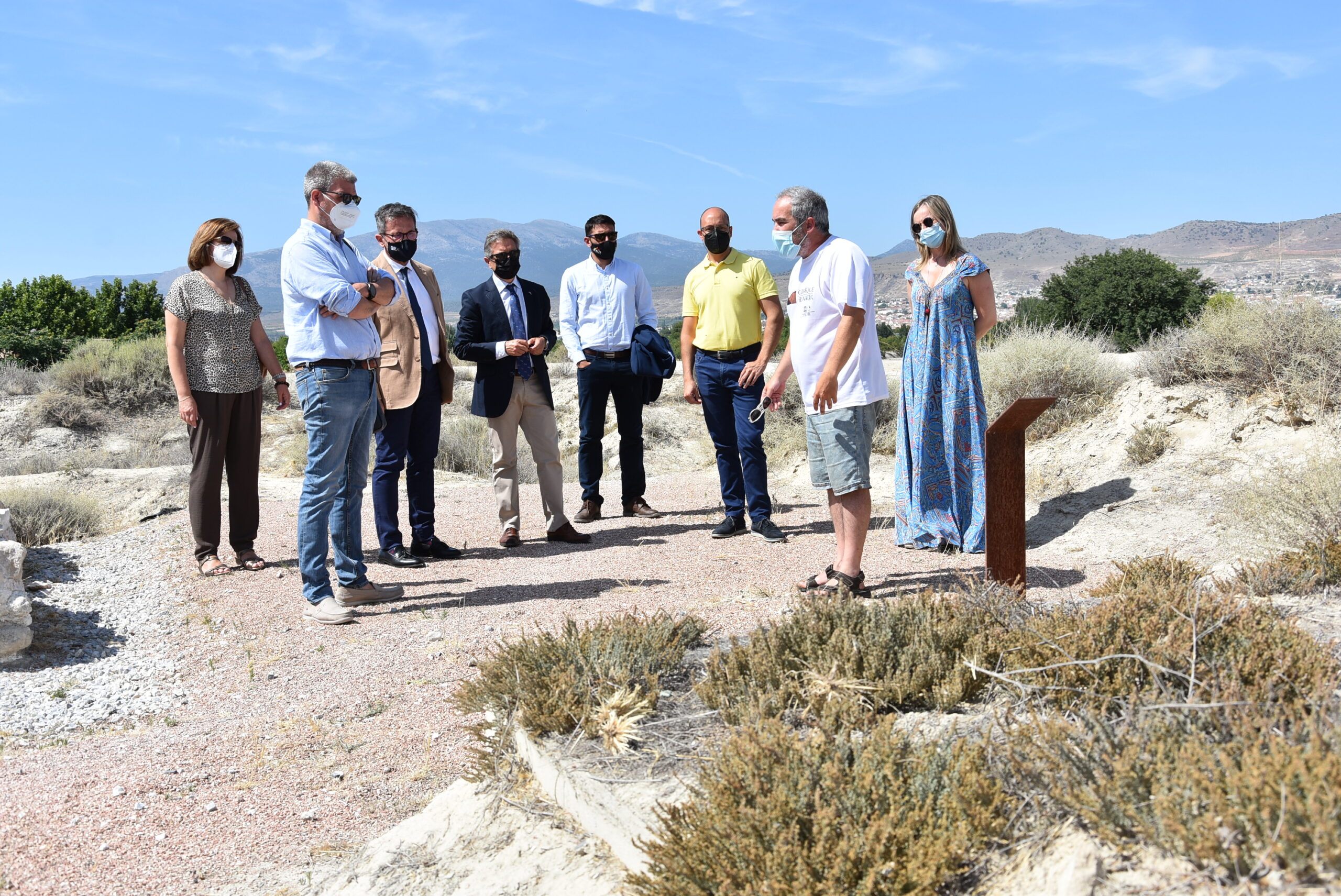 El Ayuntamiento de Baza se reúne con Turismo para recabar apoyo
