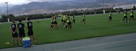 Entrenamiento Granada CF
