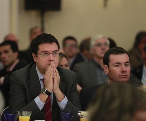 Óscar López y Tomás Gómez