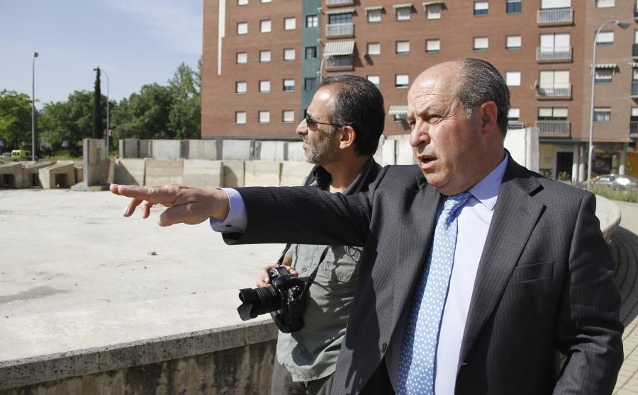 Alcalde Obras del Metro