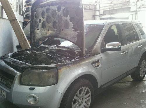 Ataque coches GIbraltar