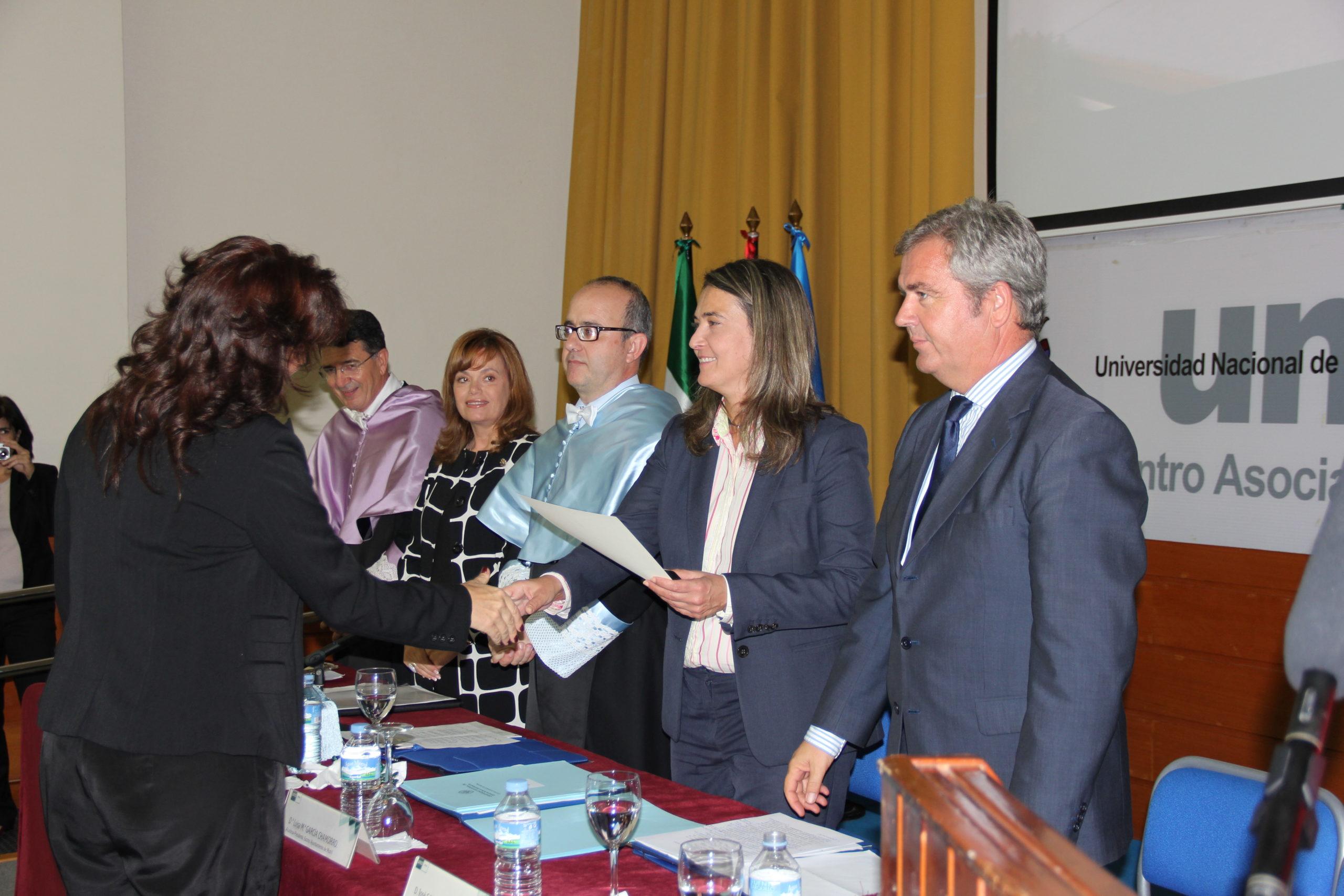 Foto Inauguración Uned de Motril 29-10-13