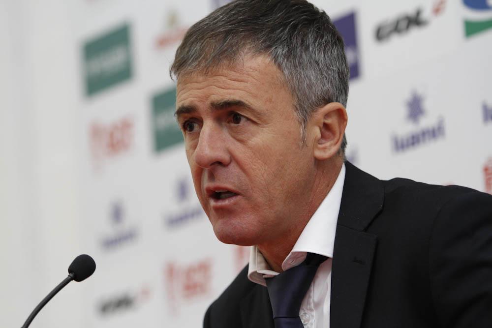 Granada CF - Atletico de Madrid entrenadores-06 Alcaraz