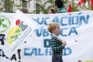 Manifestacion educacion contra la LOMCE 12