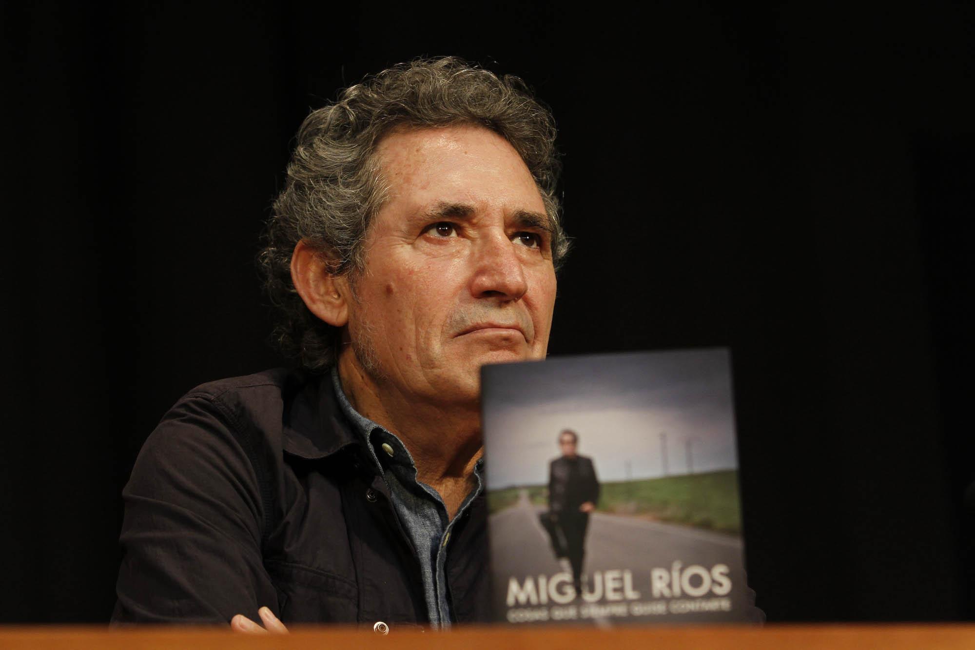 Miguel Ríos presenta su libro 02