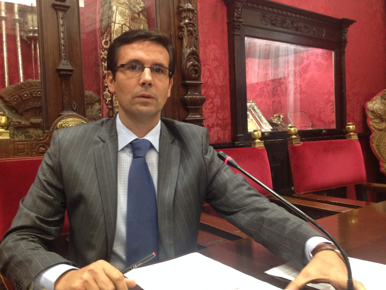 Paco Cuenca, en la valoración de los presupuestos