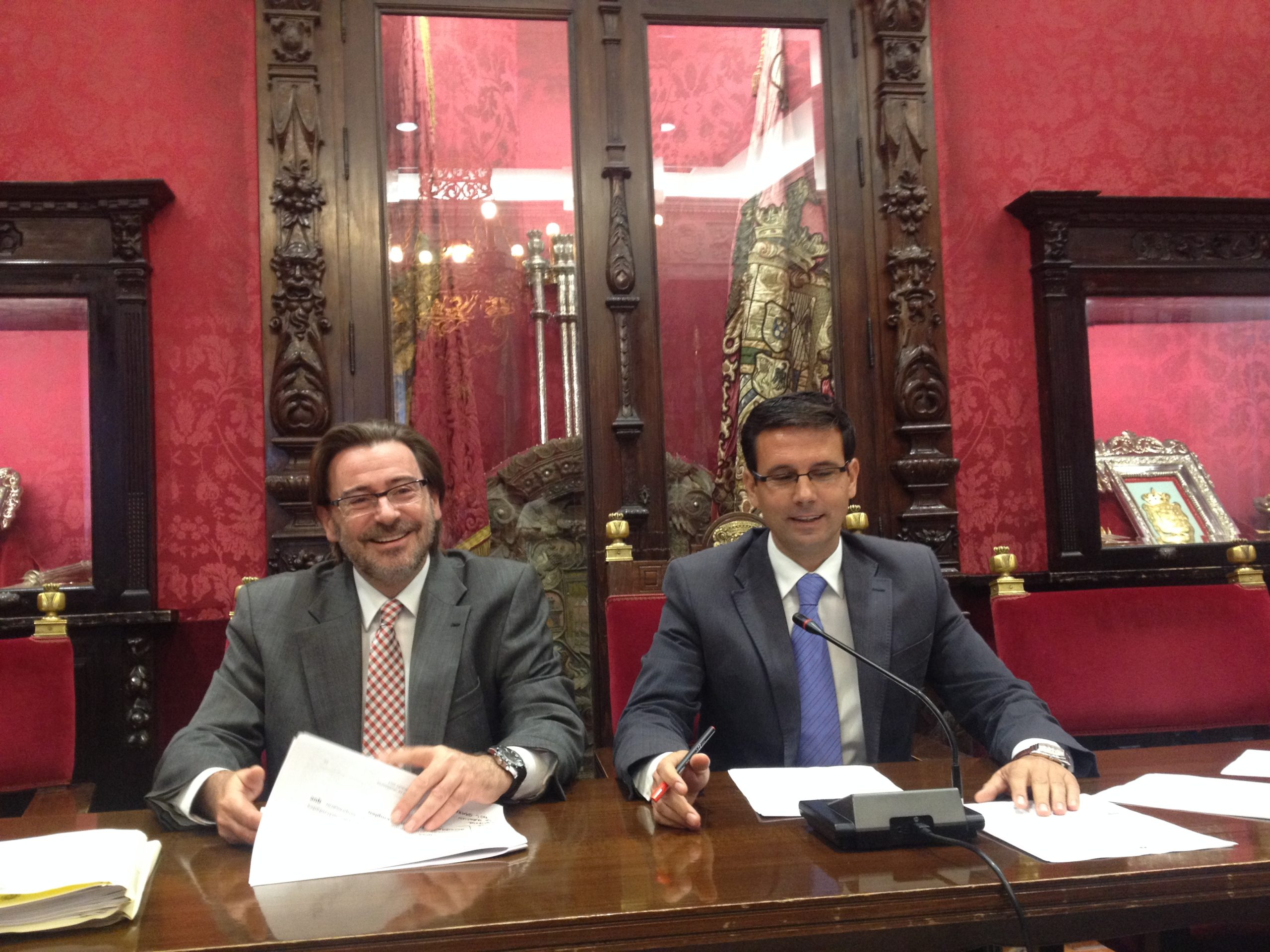 Paco Cuenca y Baldomero Oliver