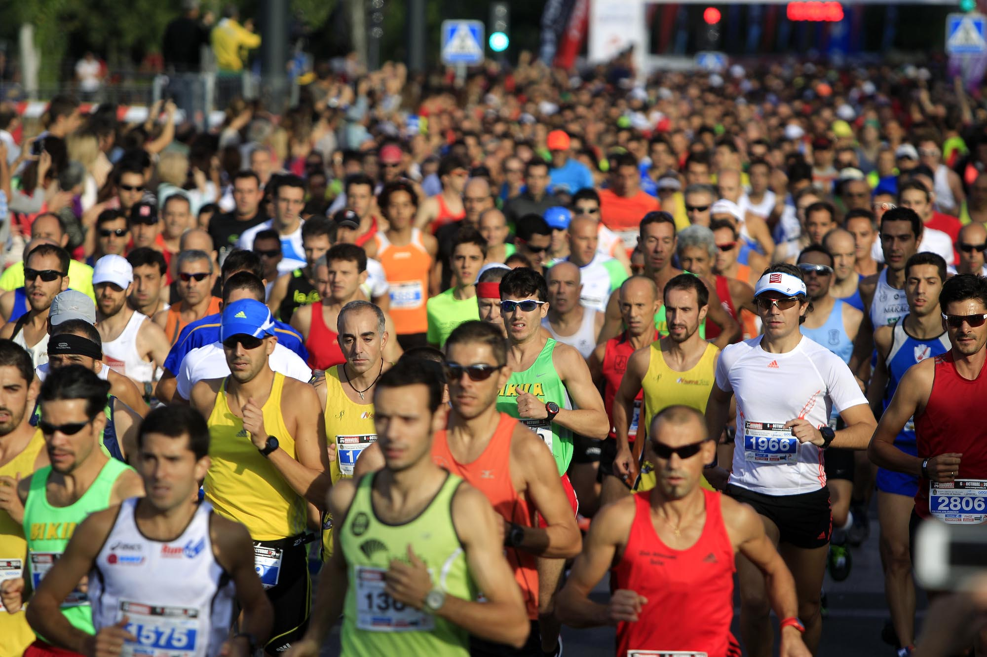 Salida Media Maraton Granada-2