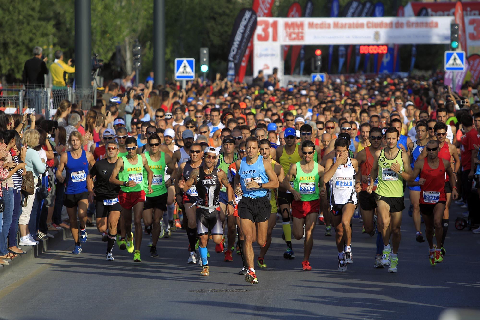 Salida Media Maraton Granada-3