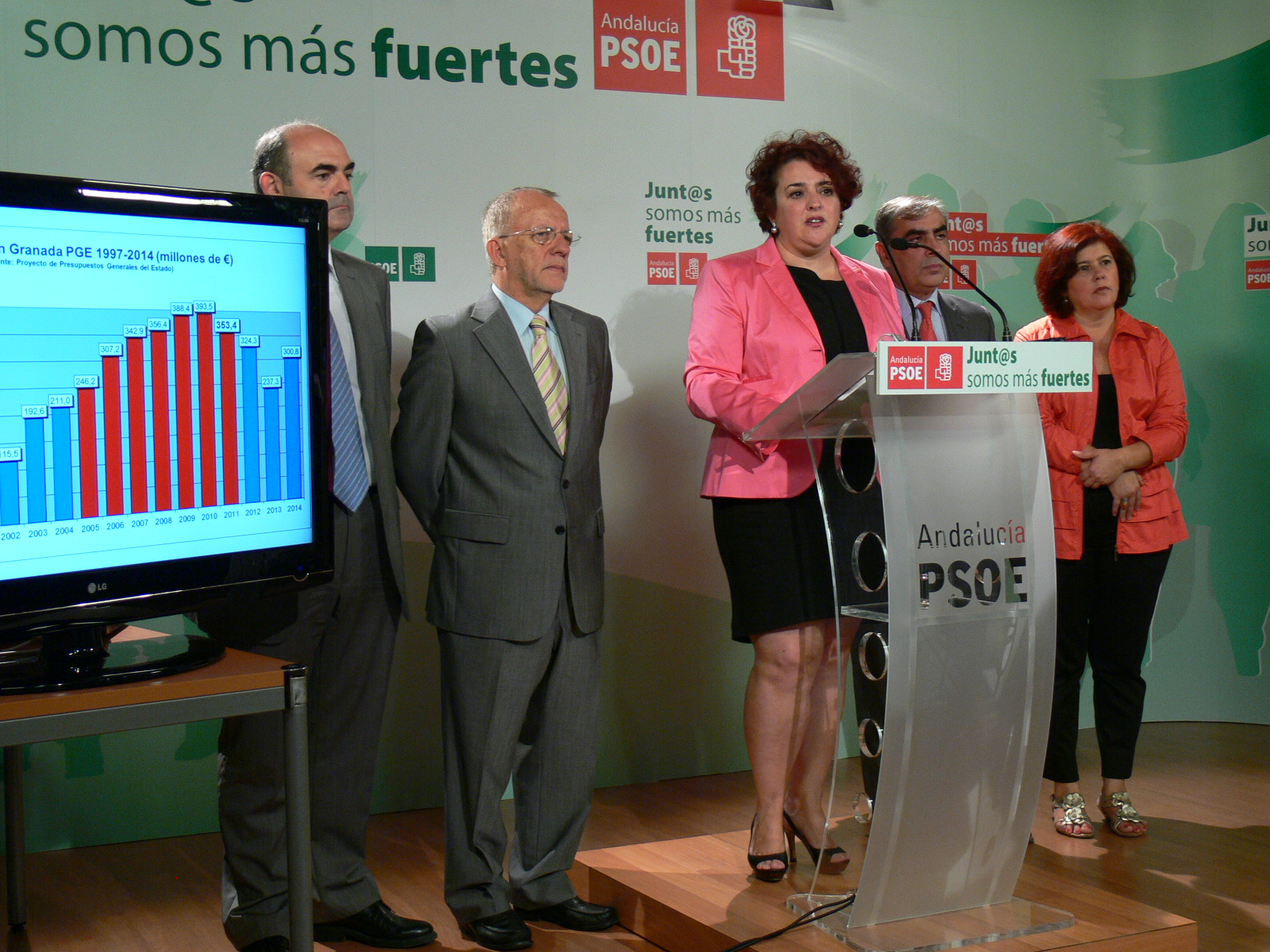 Teresa Jiménez y Parlamentarios 02