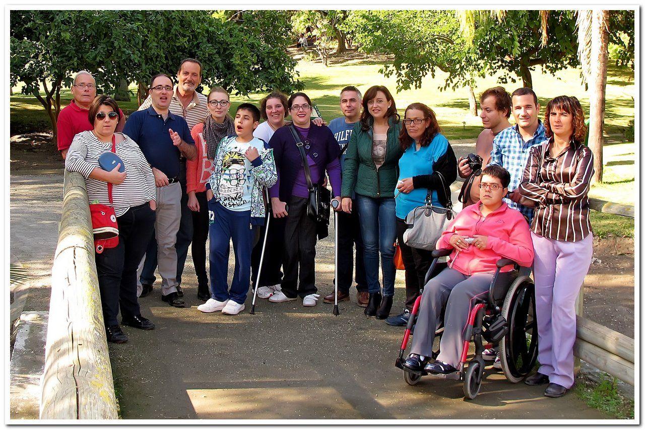 Clausura taller de fotografía para personas con discapacidad 11-11-13