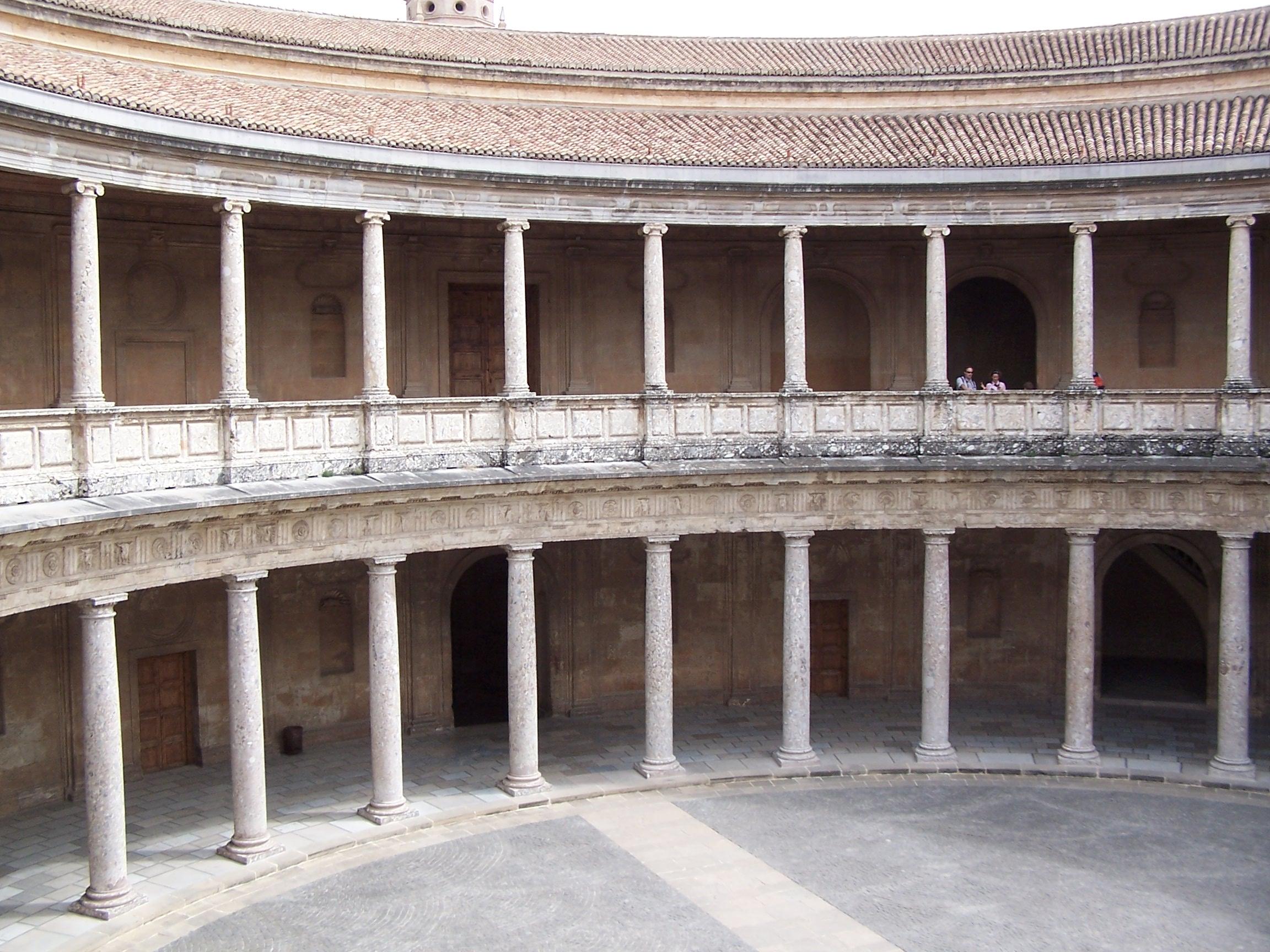 Granada_Alhambra_Palacio_Carlos_V_Interior