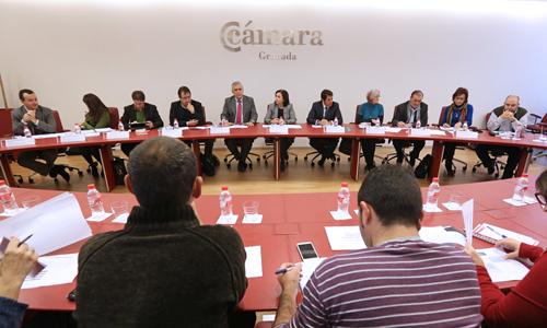 Presentación presupuestos Camara Comercio Junta Andalucia