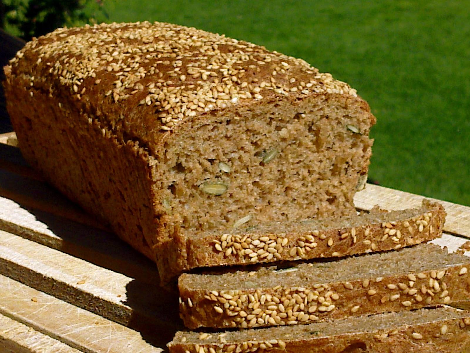 pan de centeno y espelta integral