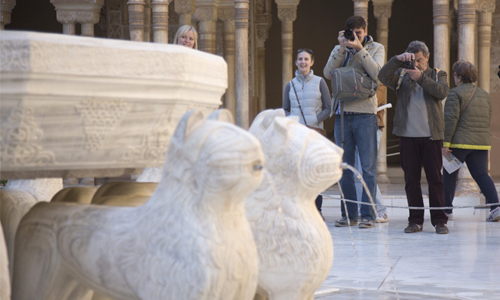 Alhambra Turistas