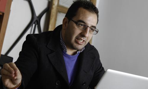 Melesio Peña Presiedente Asociacion Jóvenes Empresarios AJE _01