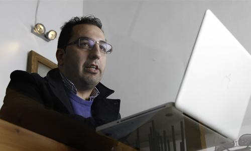 Melesio Peña Presiedente Asociacion Jóvenes Empresarios AJE _03