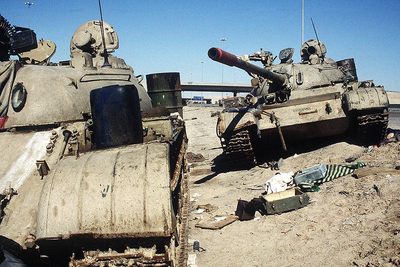 tanques iraq