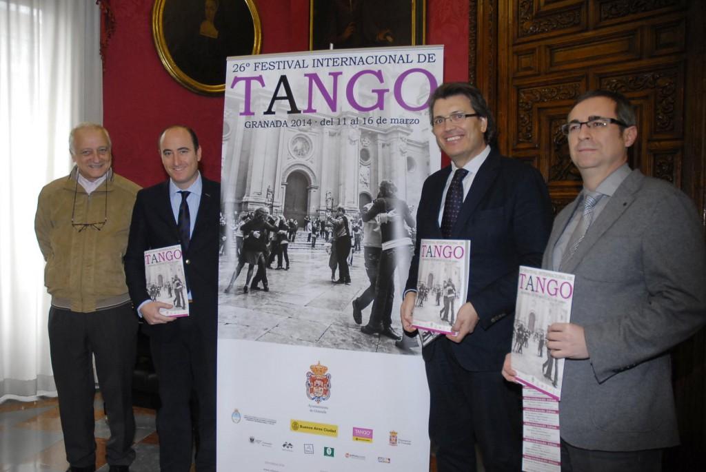 presentac 26 Festival de Tango de Granada 2