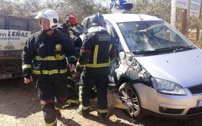 Accidente coche