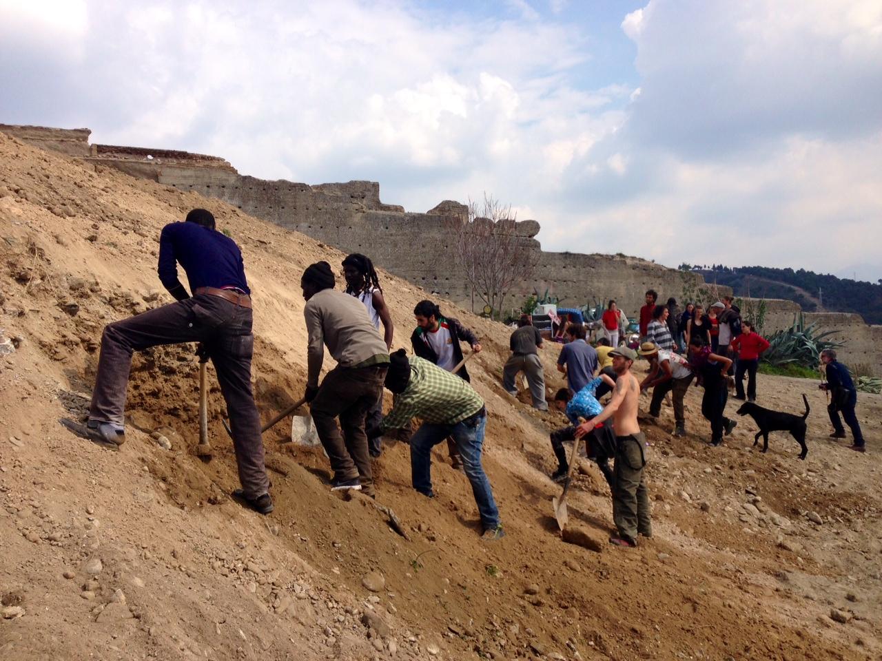 Cuevas San Miguel excavación