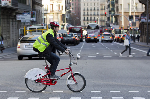 ciclistas ciudad