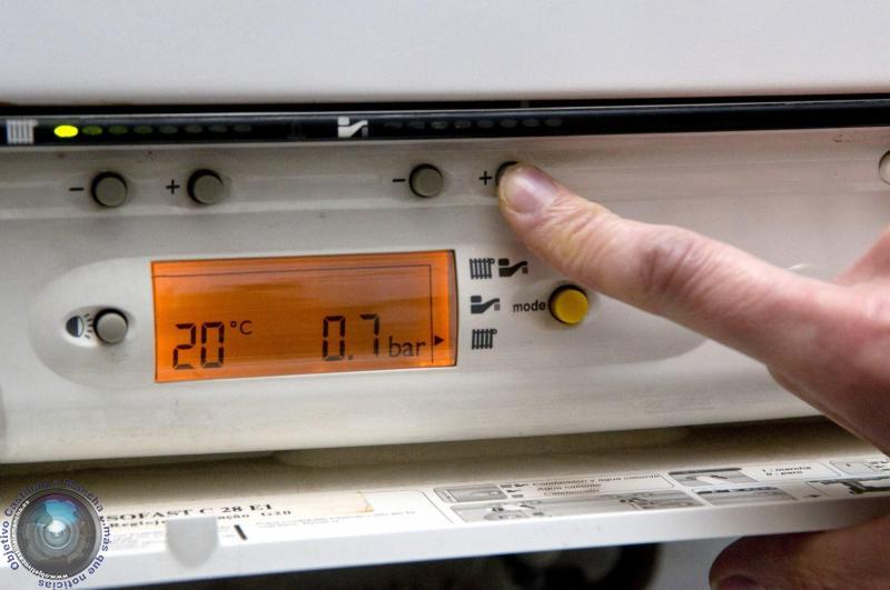 inspección gas