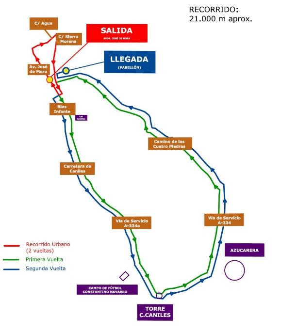 mapa media maratón baza 2014