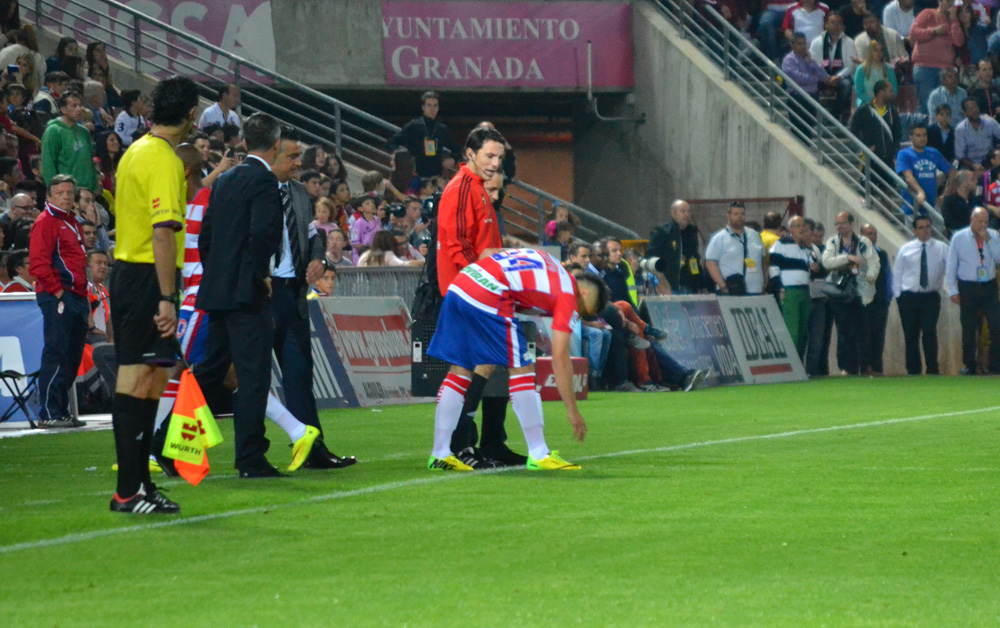 DSC_0504 Granada CF Barcelona Debut Crisitian Bravo