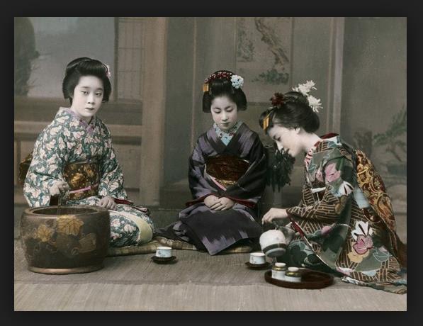 ceremonia del té japón