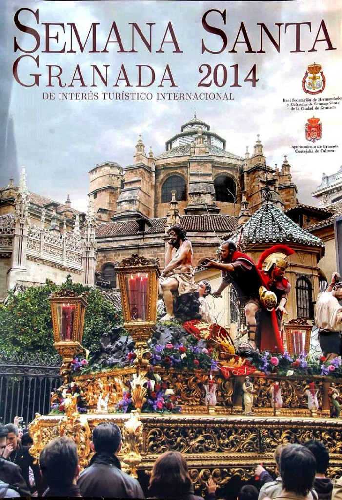Es el cartel oficial de la Semana Santa 2014. Fotografía de José Velasco.