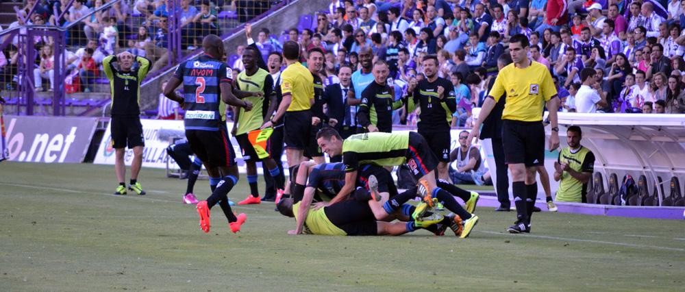 Granada CF Valladolid Celebración gol Piti Portada