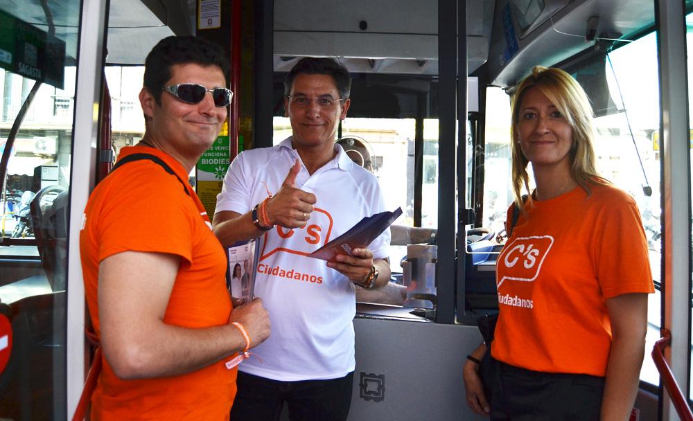 Luis Salvador Ciudadanos Bus
