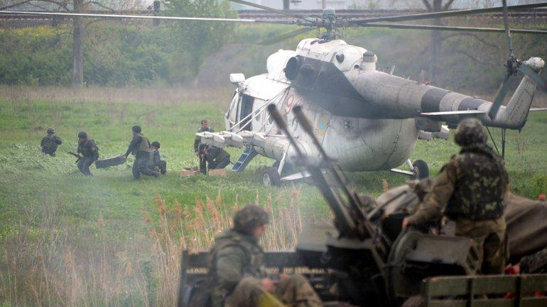 Ucrania enfrentamientos en Slaviansk