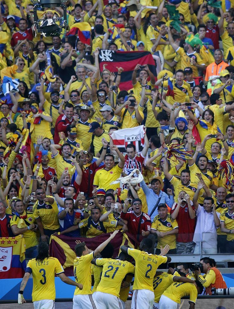 Colombia 3-0Grecia