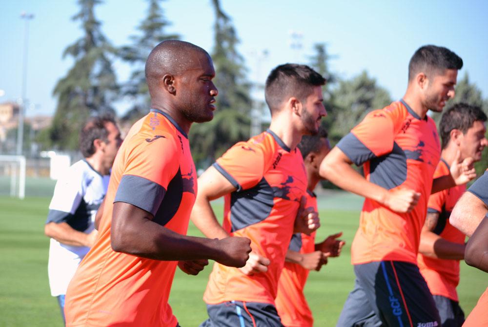 Granada CF entreno pretemporada 3 Babín