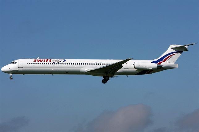 avión español