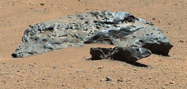 curiosity | meteorito