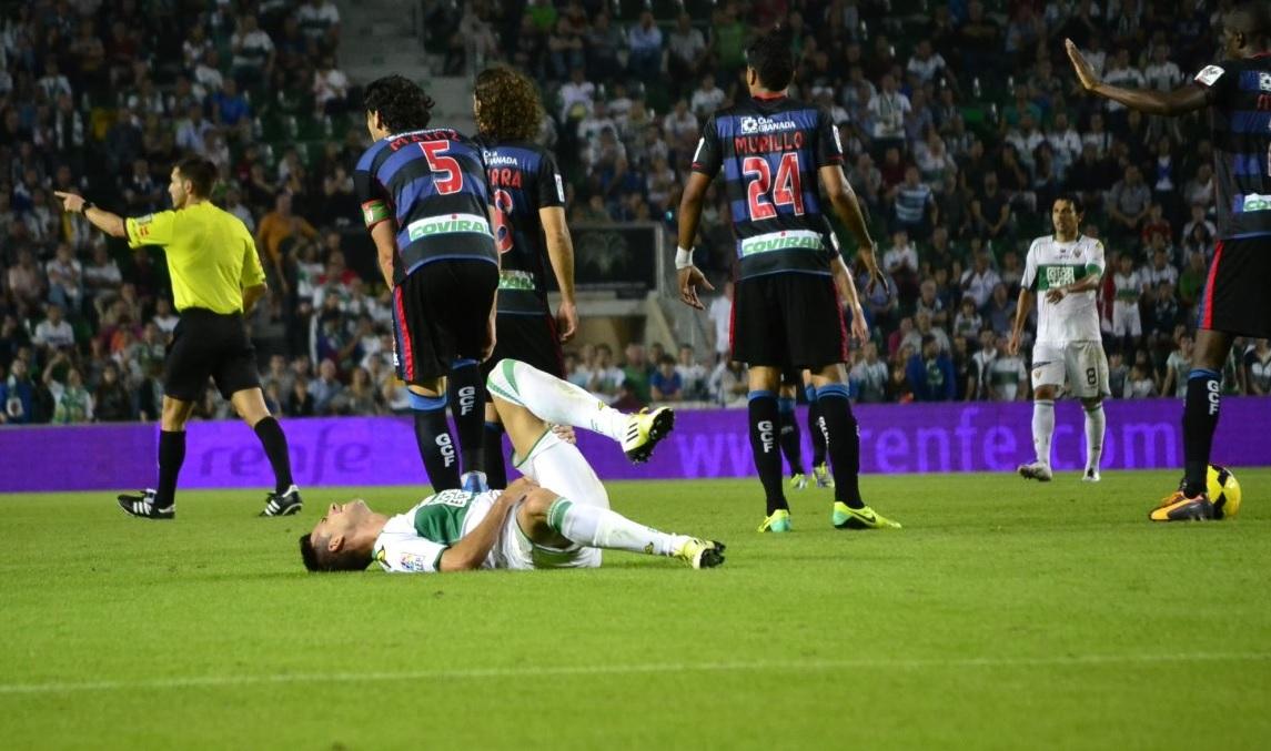 Elche Granada 0-1