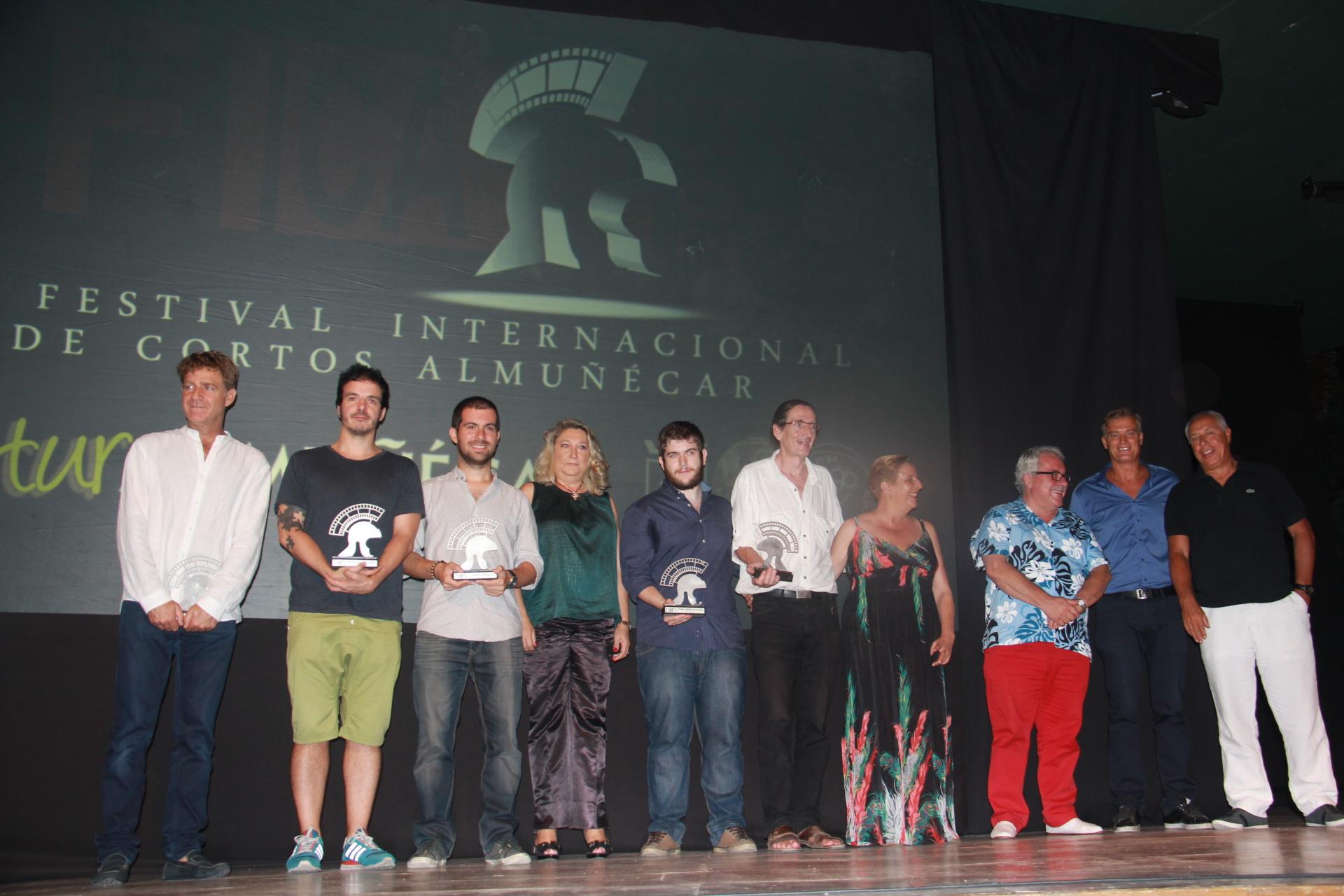 GALARDONADOS EN FESTIVAL INTERNACIONAL CORTOS ALMUÑECAR 2014