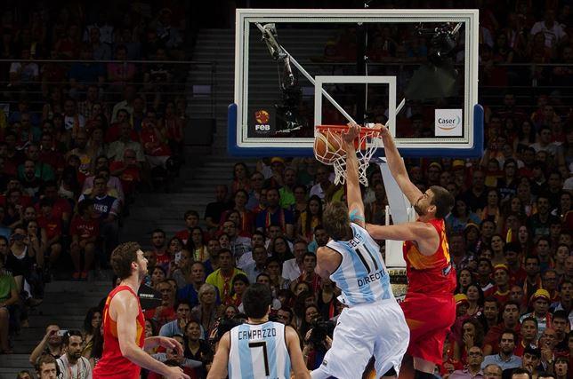 españa argentina baloncesto