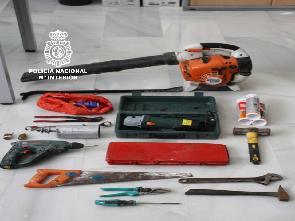herramientas|policía