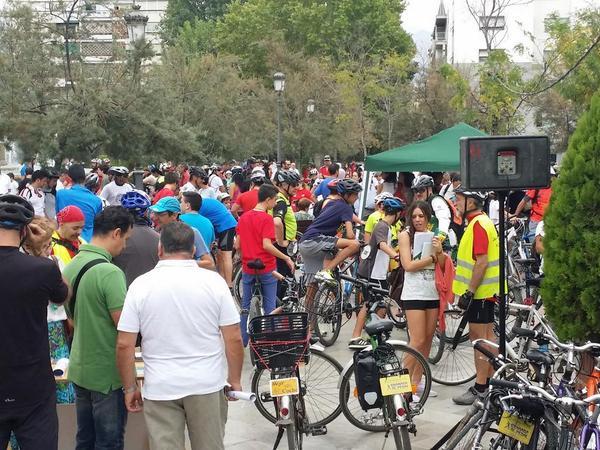 marcha bicicleta semana de movilidad