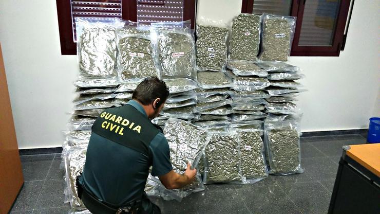 droga | guardia civil