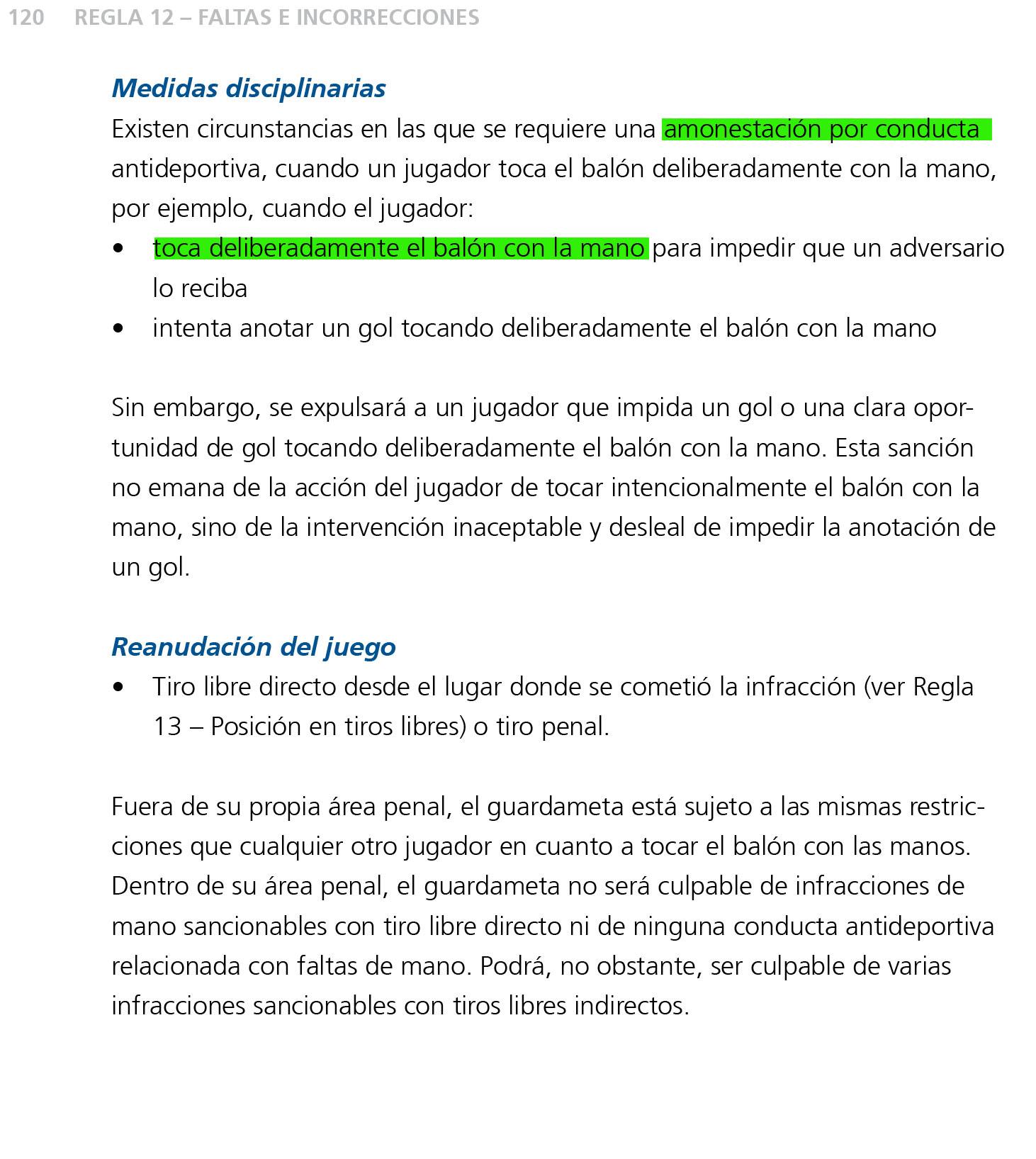 El penalti de Iturra, reglamento en \'mano\'
