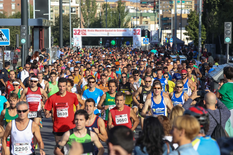 Medio Maratón 2014 SALIDA