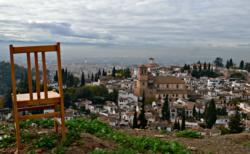 portada albaicín silla