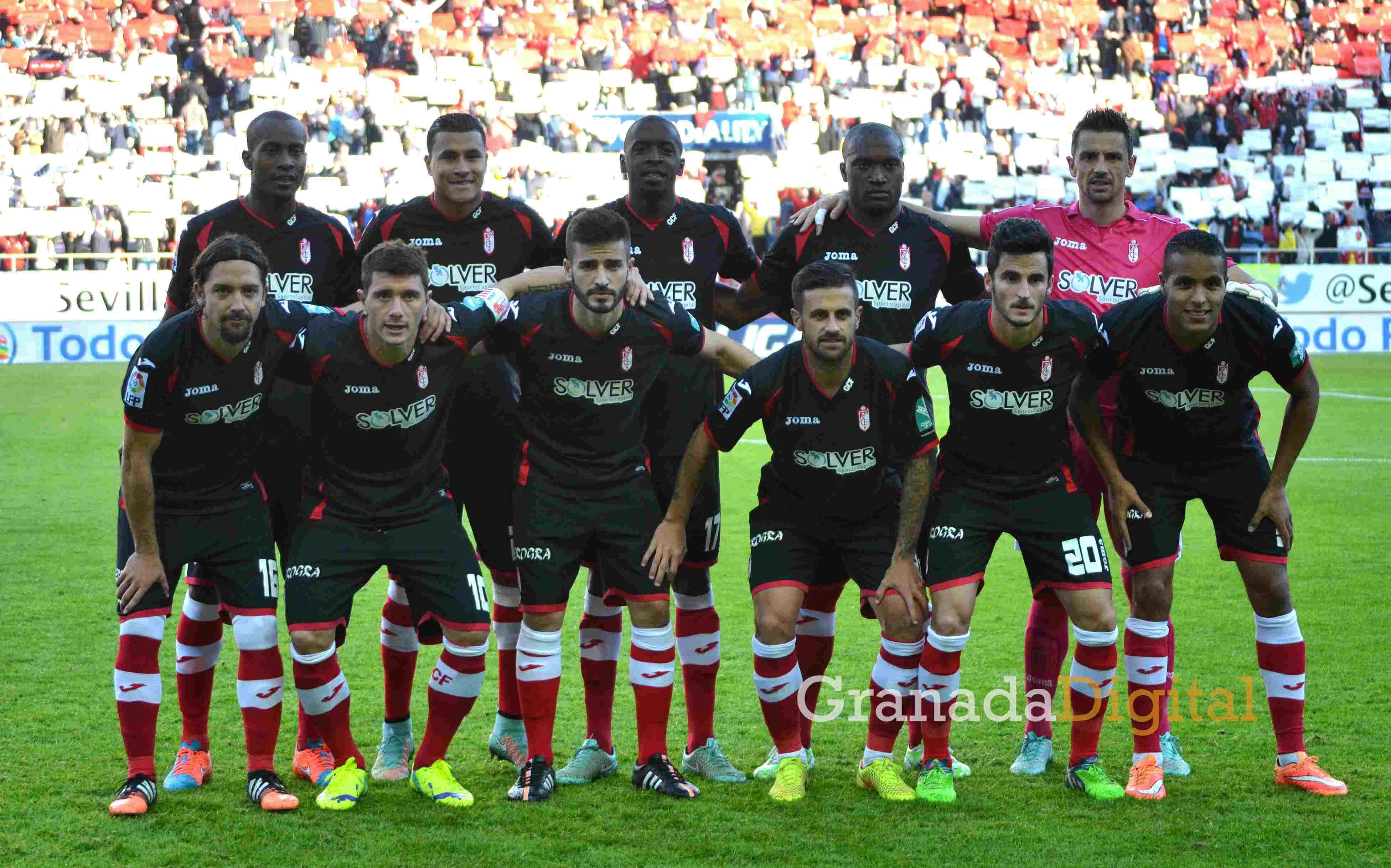 16 Sevilla Granada CF once inicial