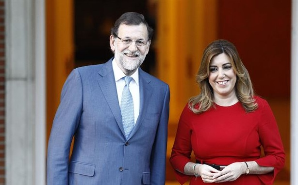 Díaz y Rajoy