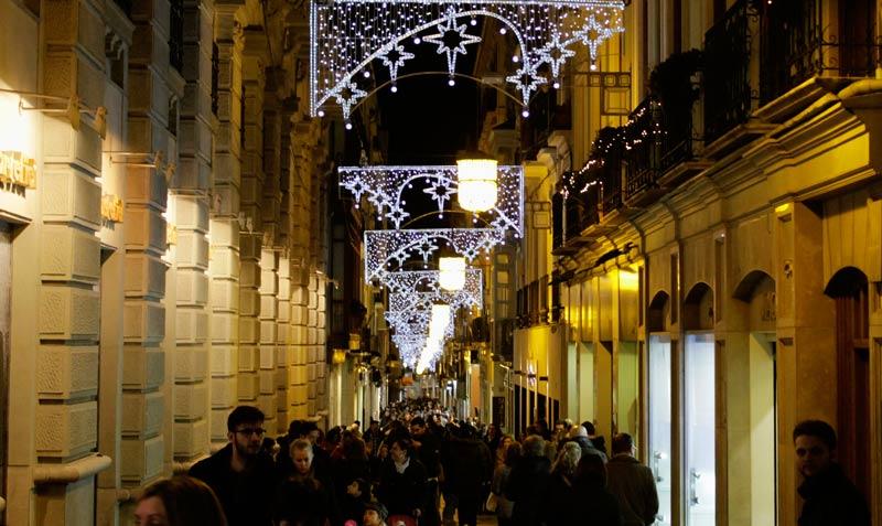 Luces de Navidad Granada   Alex Horta